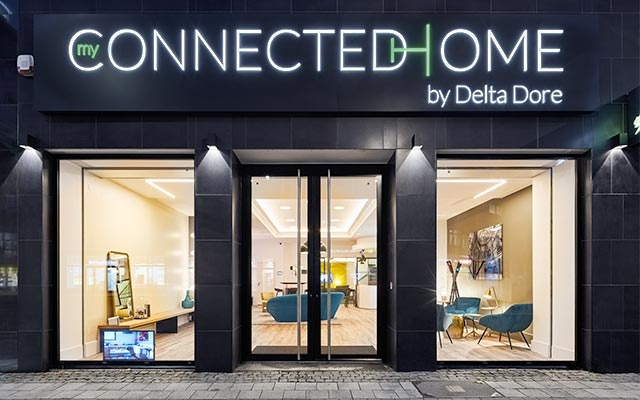 Showroom Delta Dore : My connected Home